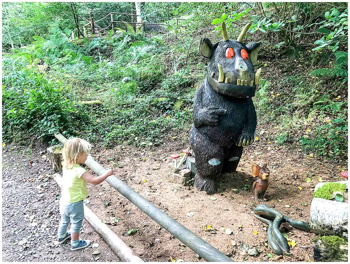 Gruffalo Trail at the Dean Heritage Centre - things to do in the Forest of Dean