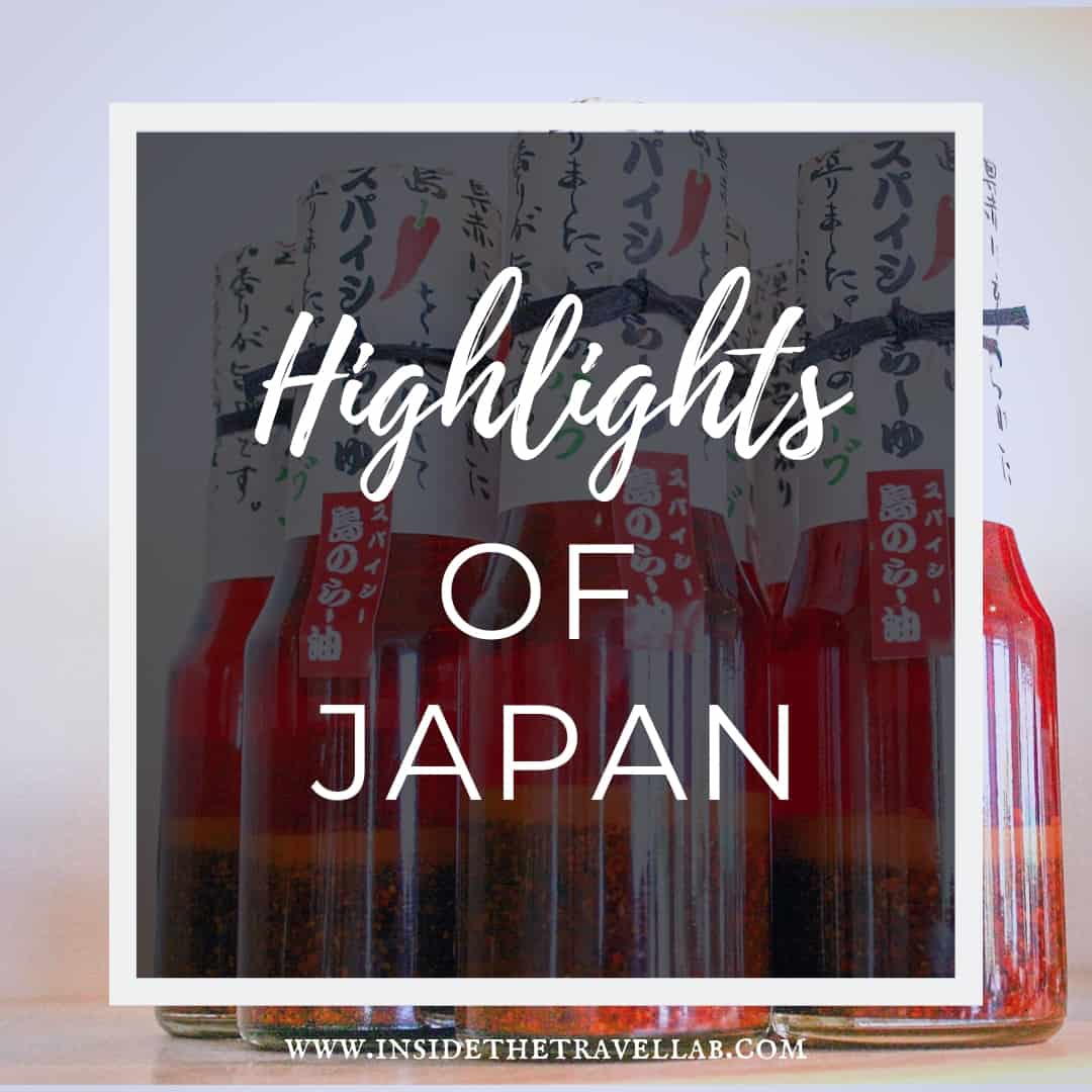 Highlights of Japan