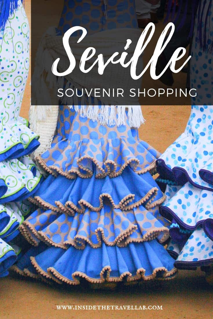 Everything you need to know about shopping in Seville, including where to get the best Seville souvenirs #Seville #Spain #Shopping