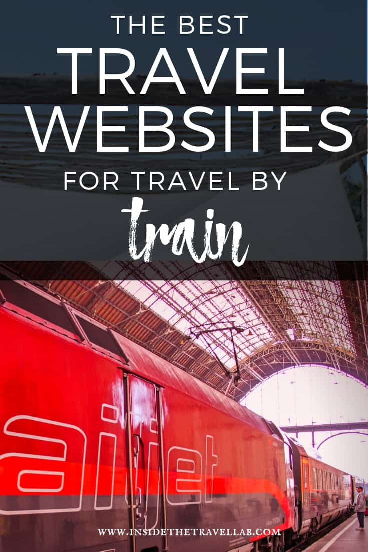 The best travel websites for travel by trai