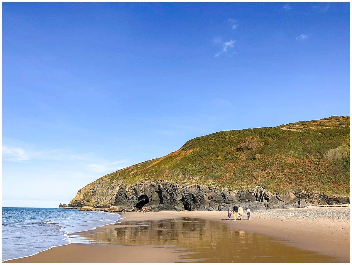 Penbryn Beach near Felin Geri