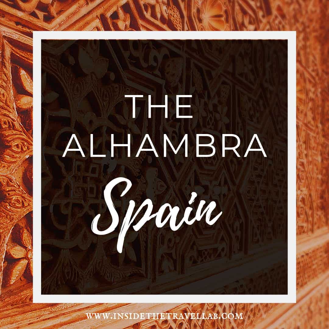 Do not weep like a woman - exploring the quote and history by visiting the Alhambra in Spain