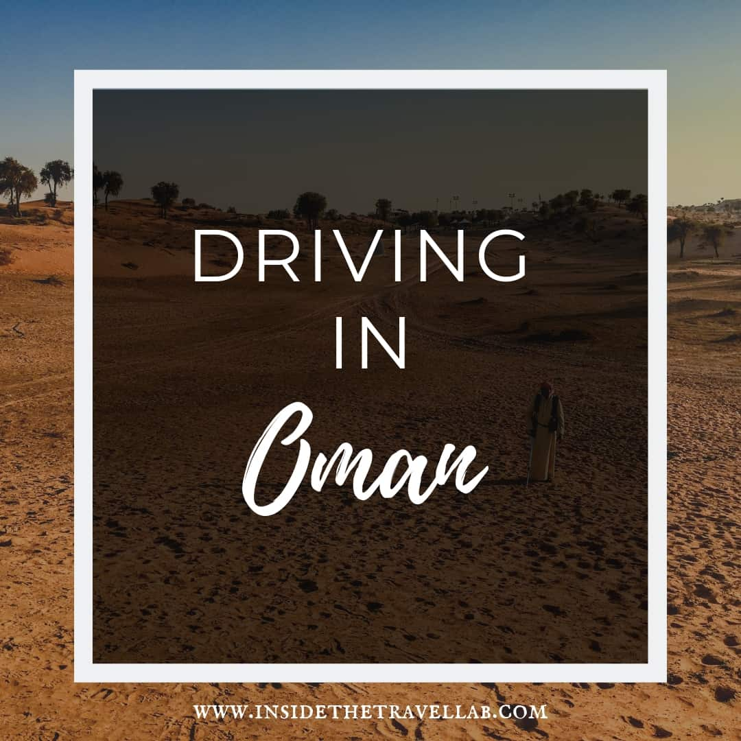 Driving in Oman