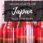 Highlights of Japan - classic routes in Japan and cultural highlights