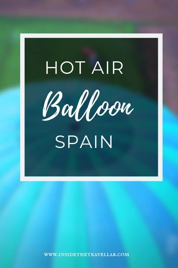 Hot air balloon ride above the sky. Sure, hot air balloons look pretty. But what is the experience really like? Here\'s how it feels to float up above the sky in a wicker basket in Spain.