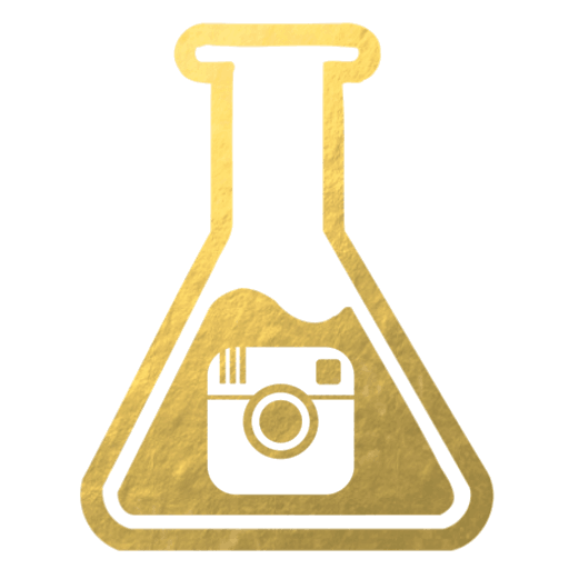 Gold flask icon instagram Inside the Travel Lab Abi King luxury sustainable food blog