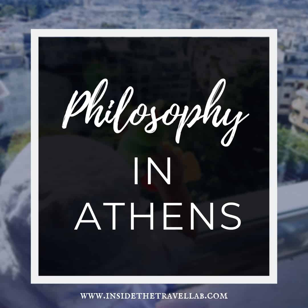 Inside an Athens philosophy tour