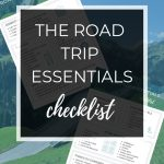 How to download the free printable road trip essentials checklist