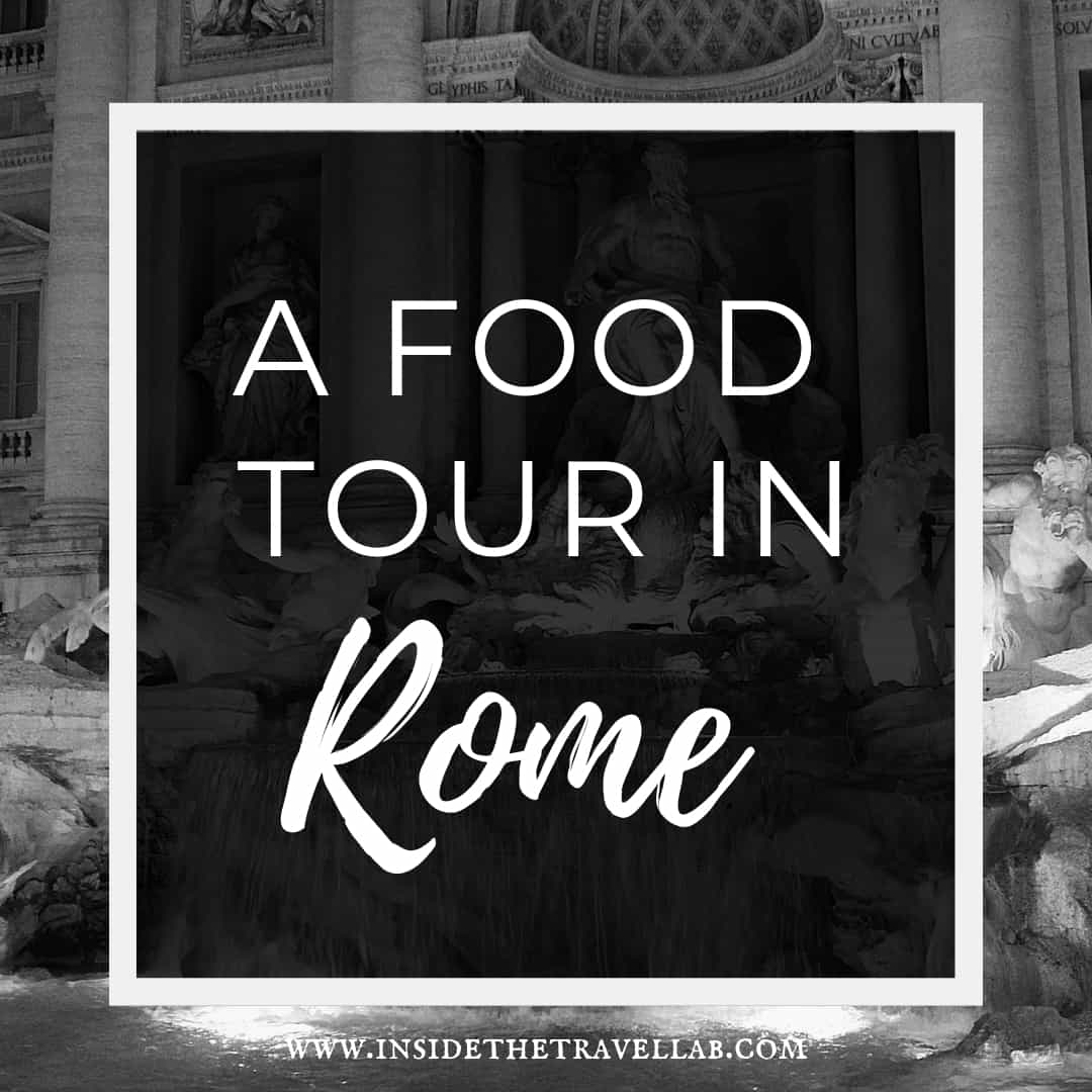 A Tasty Food Tour in Rome Monochrome Pinterest