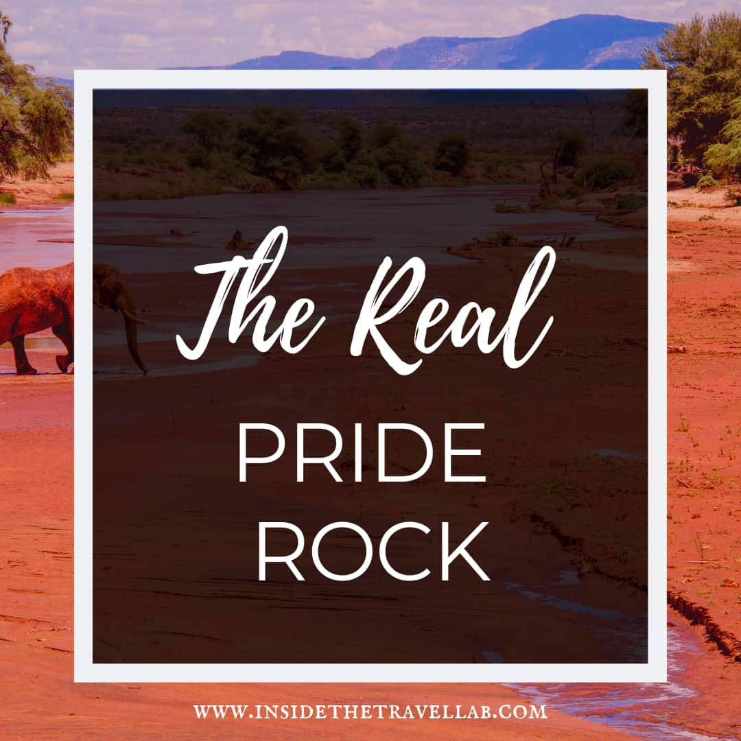 The Real Pride Rock Africa