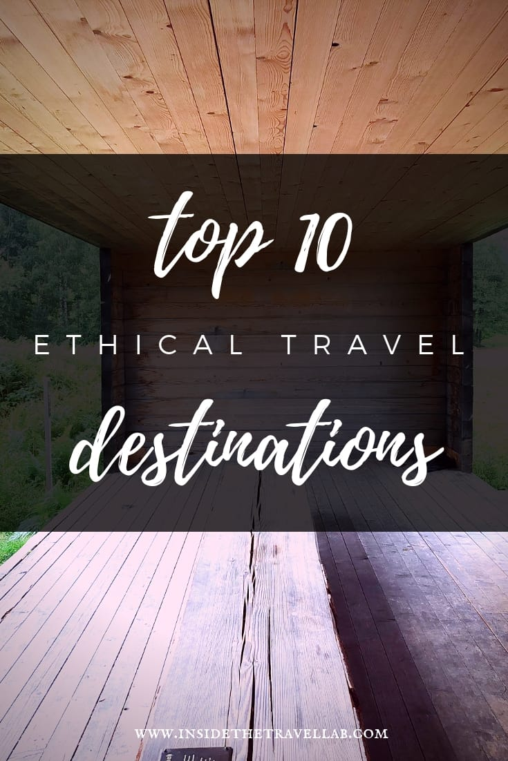 Ethical Traveler have announced their top 10 ethical travel destinations on the basis of research from Amnesty International, the World Bank, animal rights groups and more. It\'s a fascinating list and an interesting approach to sustainable tourism. #ethical #travel #sustainabletravel