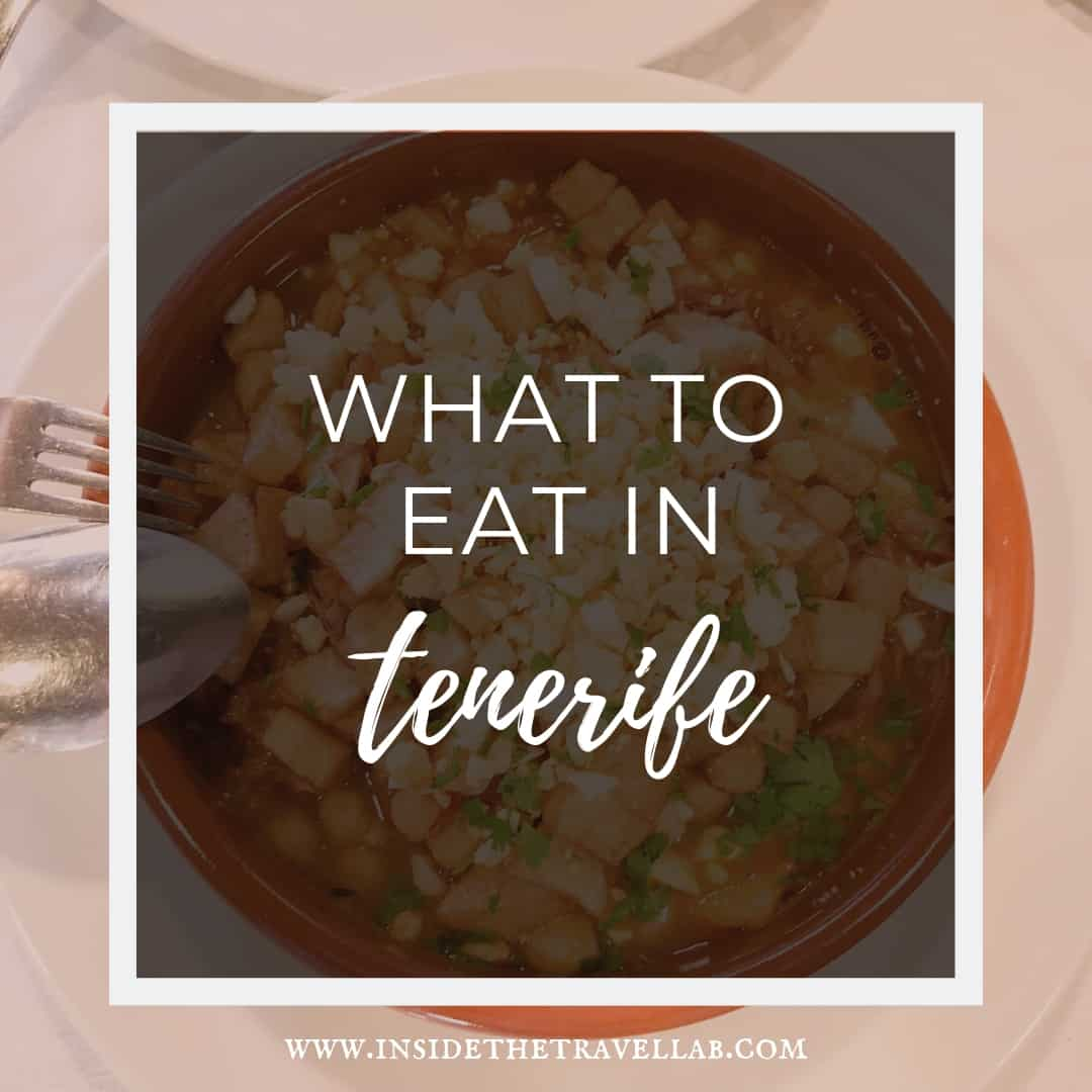 What to eat in Tenerife - Tenerife Food Guide