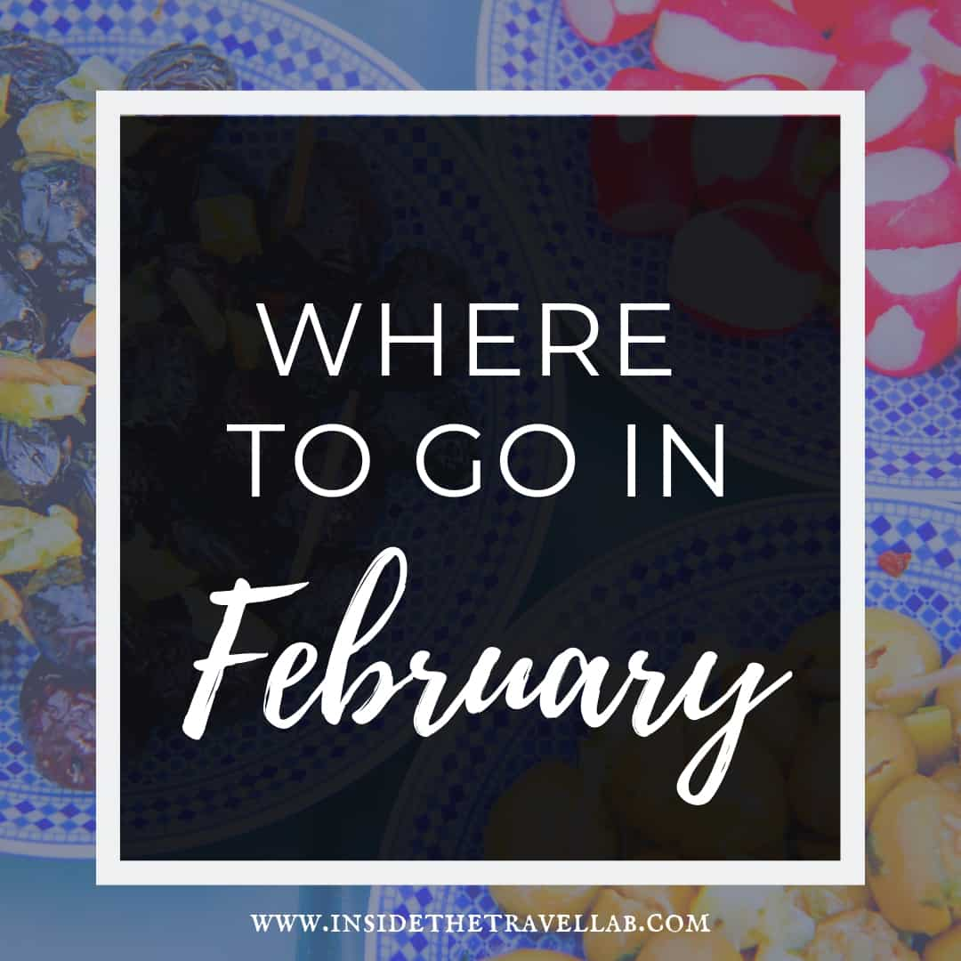 Where to travel to in February