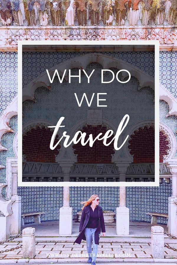 Why do people travel? Reasons for travelling are easy to find but harder to dissect. Whether we travel to rest and recharge or to fire ourselves up, ultimately, I think there's only one reason people travel. #travel