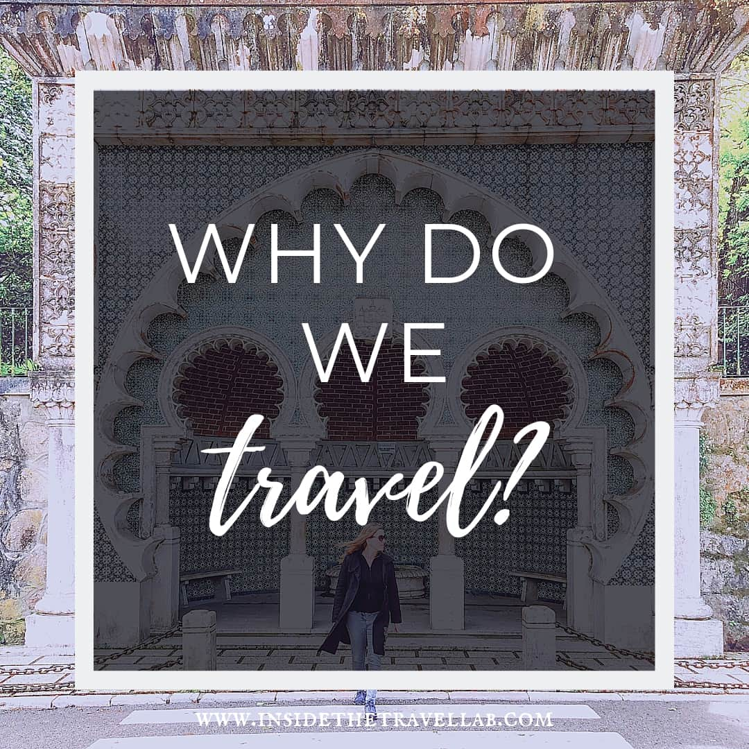 Why do people travel - striding across from Sintra - travel writing essay