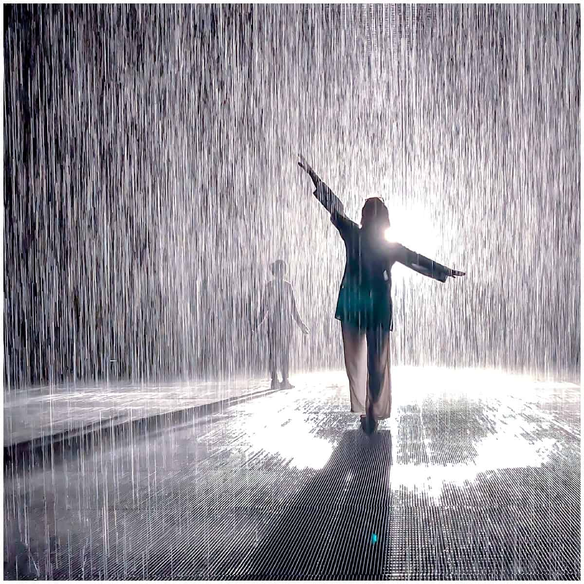 Rain room Sharjah - Abigail King