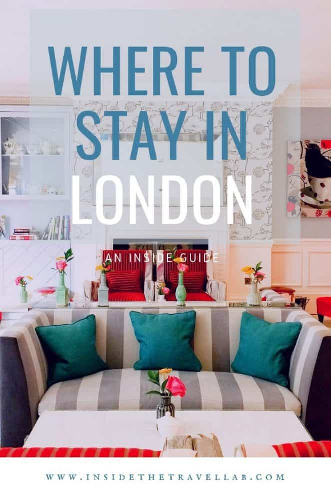 Where to stay in London UK cover image