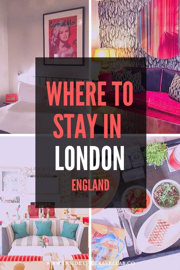 Where to stay in London England
