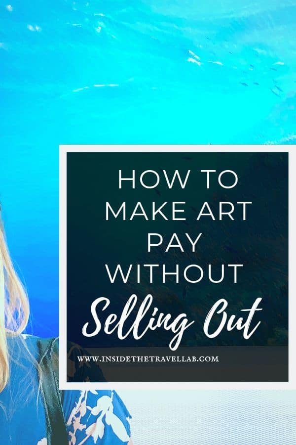 As artists or writers, how do we make art pay without selling out? Artists give their advice on commercial success with creativity and creativity with commercial success. #freelance #amwriting #creativity