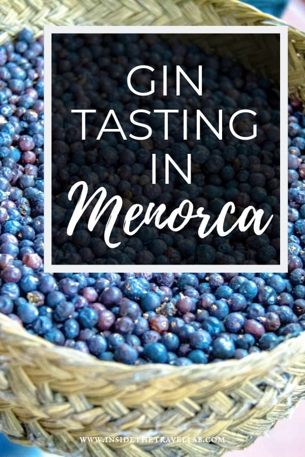 Menorcan gin tasting at the Xoriguer Distillery in Mahon combines education with history and, yes, lots of different types of gin. It\'s a lovely half day activity in this Spanish island and a great thing to do in Menorca. #Spain #Gin #TravelSpain #Mahon