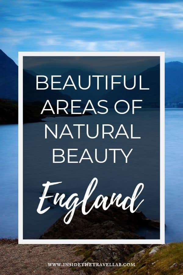 Beautiful areas of natural beauty text fuide for England