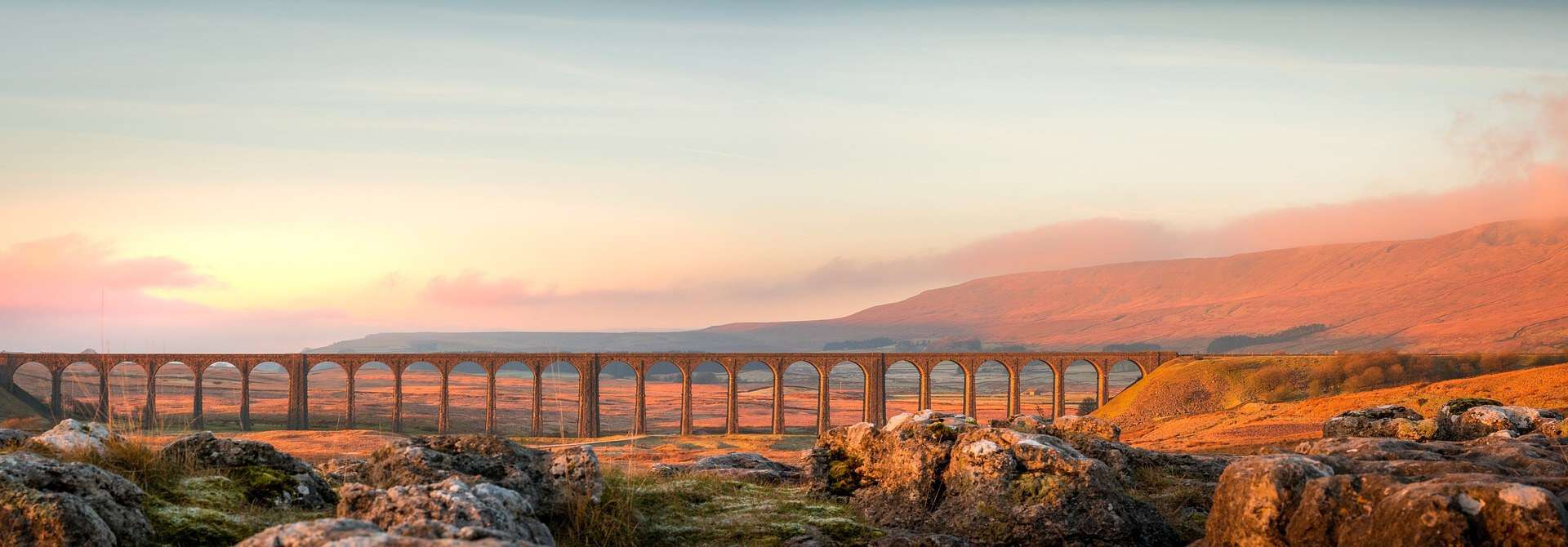Best places to visit in England - atmospheric aqueduct