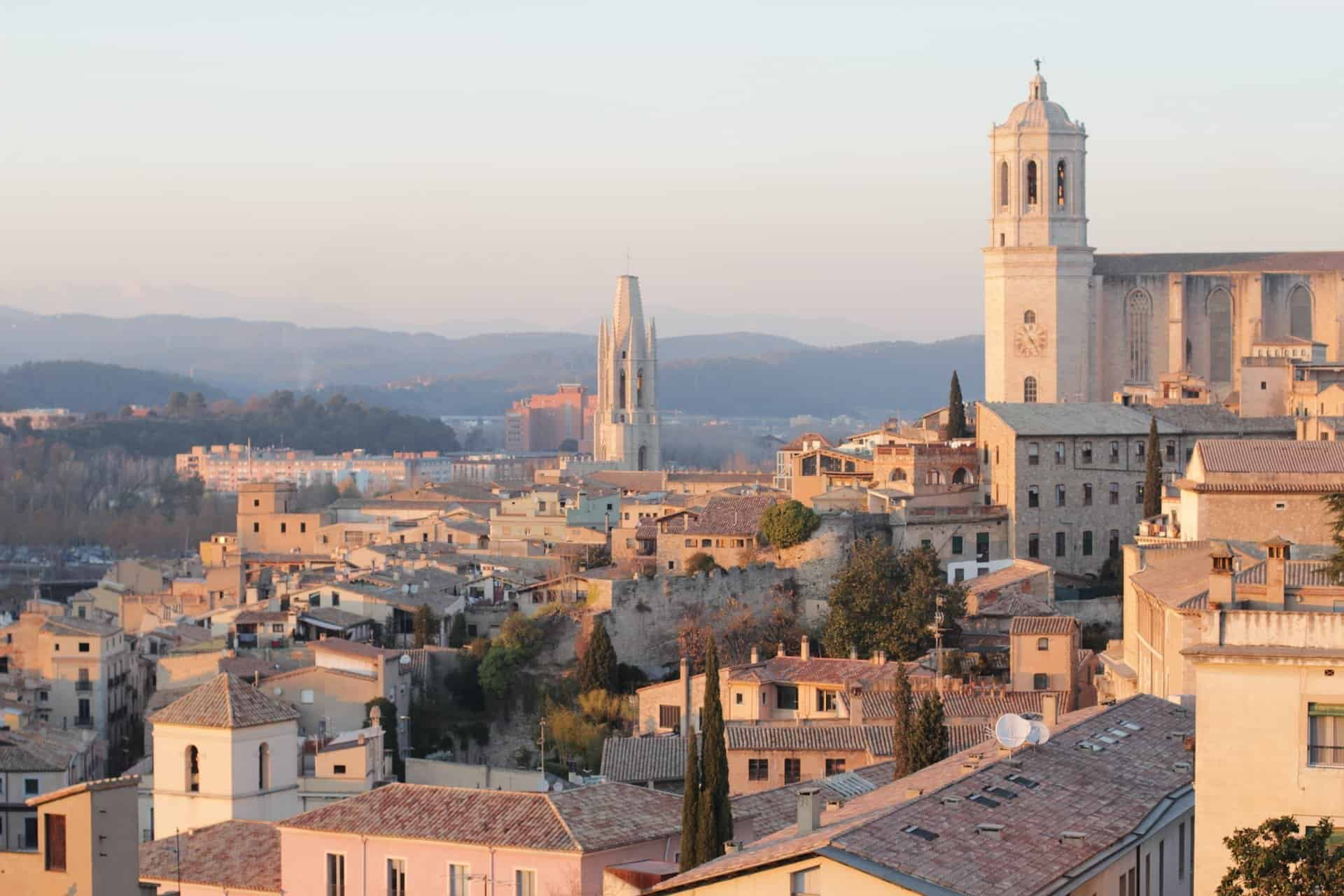 City view of Girona for Things to do in Girona Spain