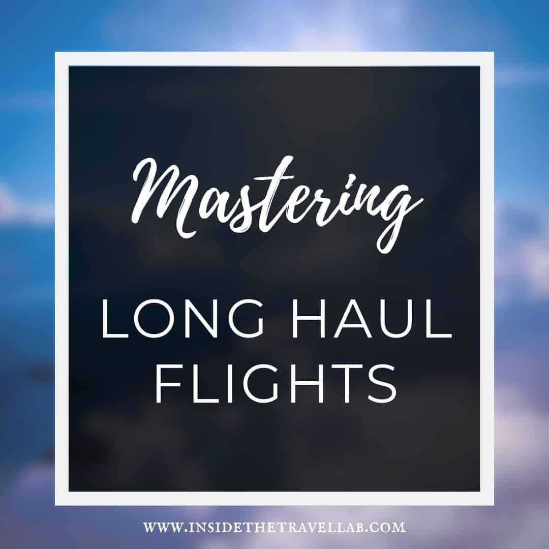 Article on long haul flight travel tips