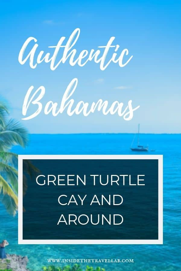 The Bahamas Green Turtle Cay is one of my favourite places for natural beauty and the odd rum punch. Here\'s an inside guide to things to do in the Bahamas Green Turtle Cay, complete with where to eat, what to see and why New Plymouth looks so much like New England. #Bahamas #Caribbean #beaches