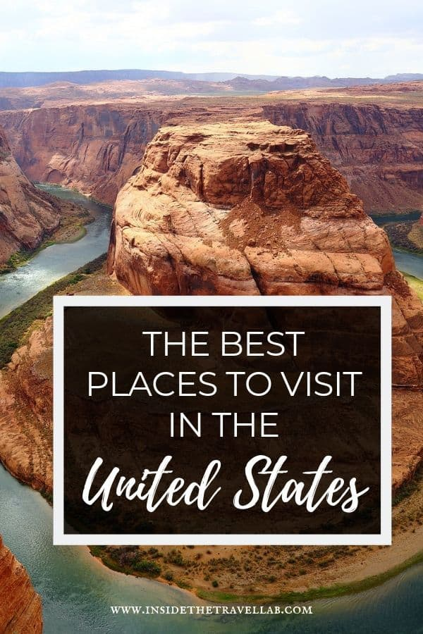 Discover the best places to visit in the USA right here. From the best cities, the classics, the newcomers and the wild expanses best for nature lovers, this is the best of the America. #Travel #America #USA