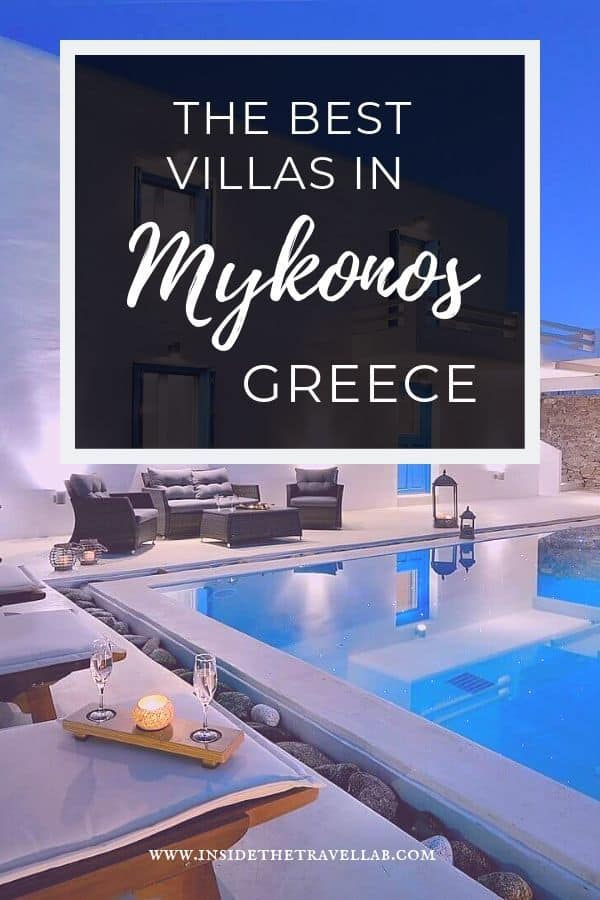 Find the best villas in Mykonos town Greece with these recommendations from travel expert Kingslike Concierge. Browse the luxury villa collection and decide based on location, private swimming pool, sea views and more. #Travel #Greece #Mykonos