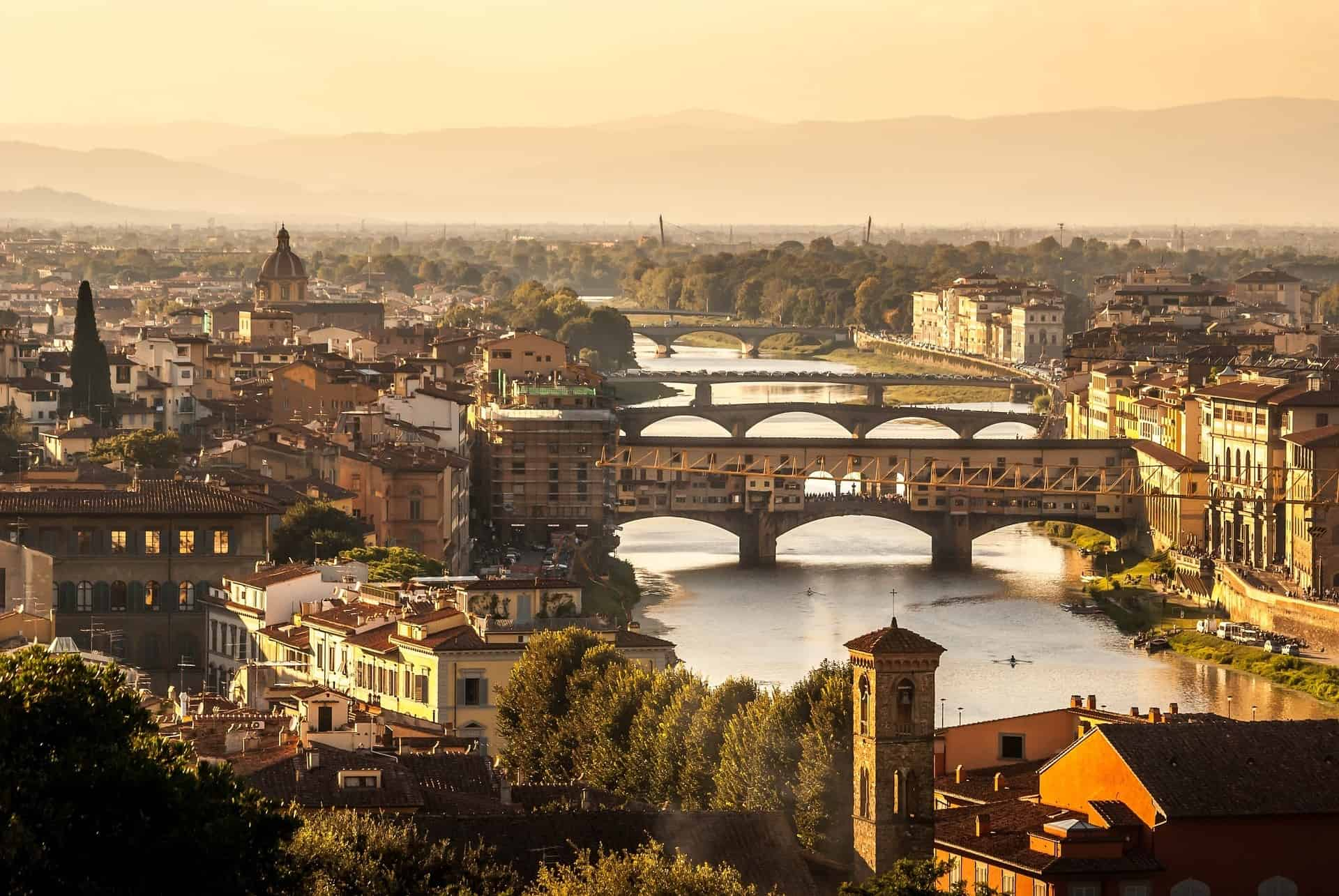 Florence Italy City Skyline