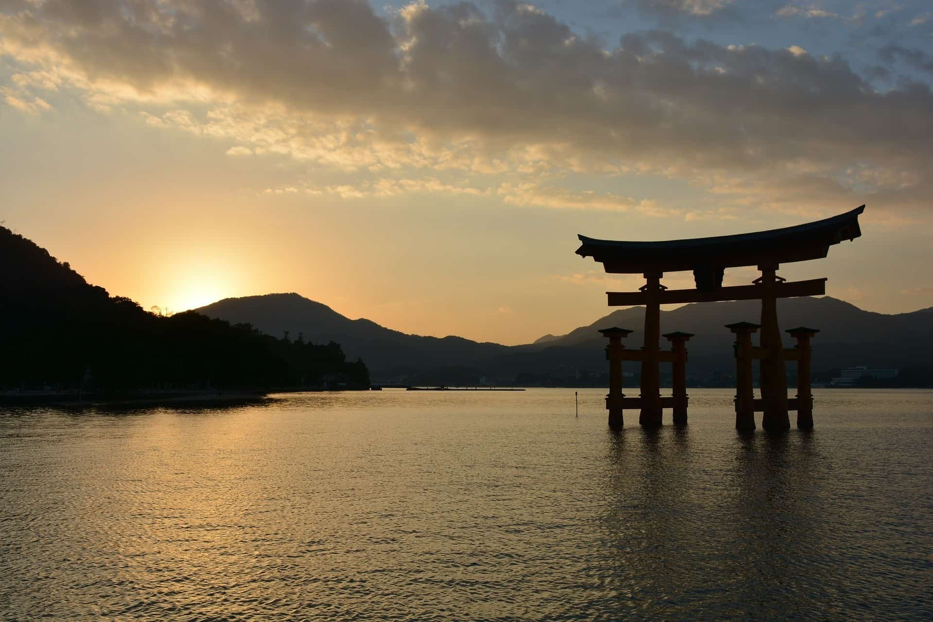 Miyajima Island nearby shrine