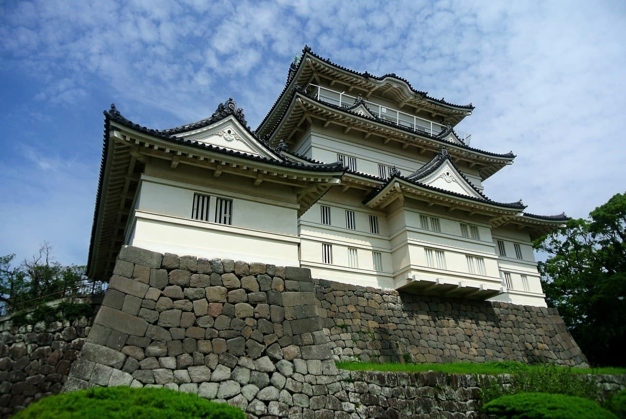 Odwara castle as a day trip from Tokyo