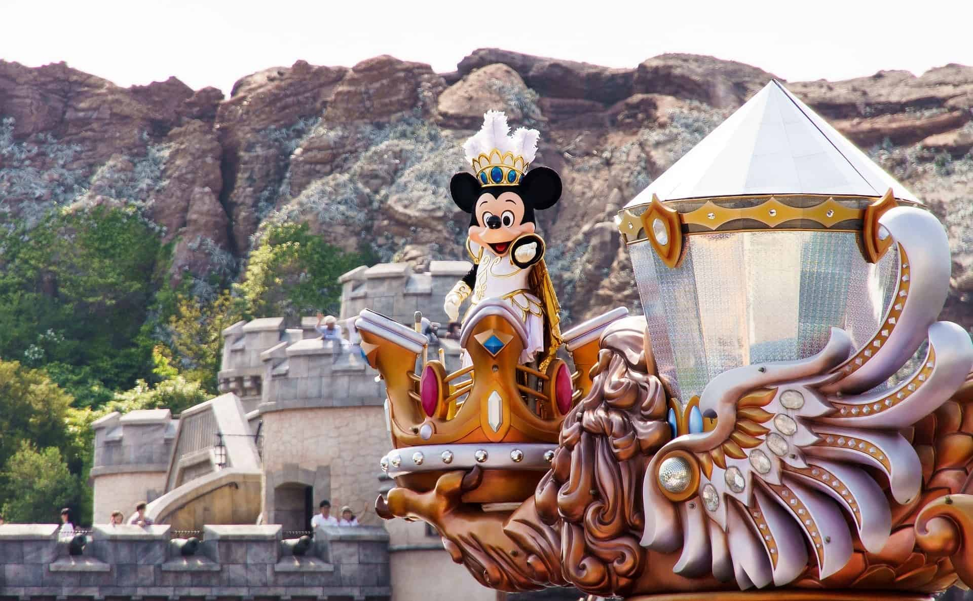 Mickey Mouse in Tokyo Disneyland