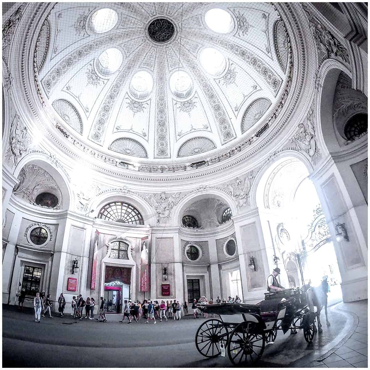 Vienna with wide angle GoPro