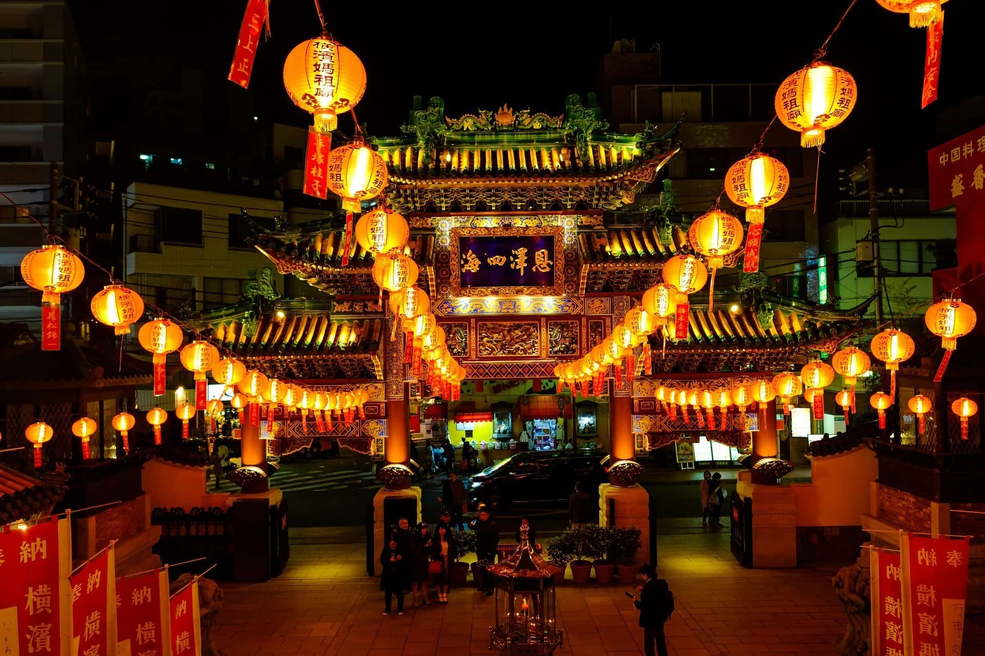 Yokohama China town