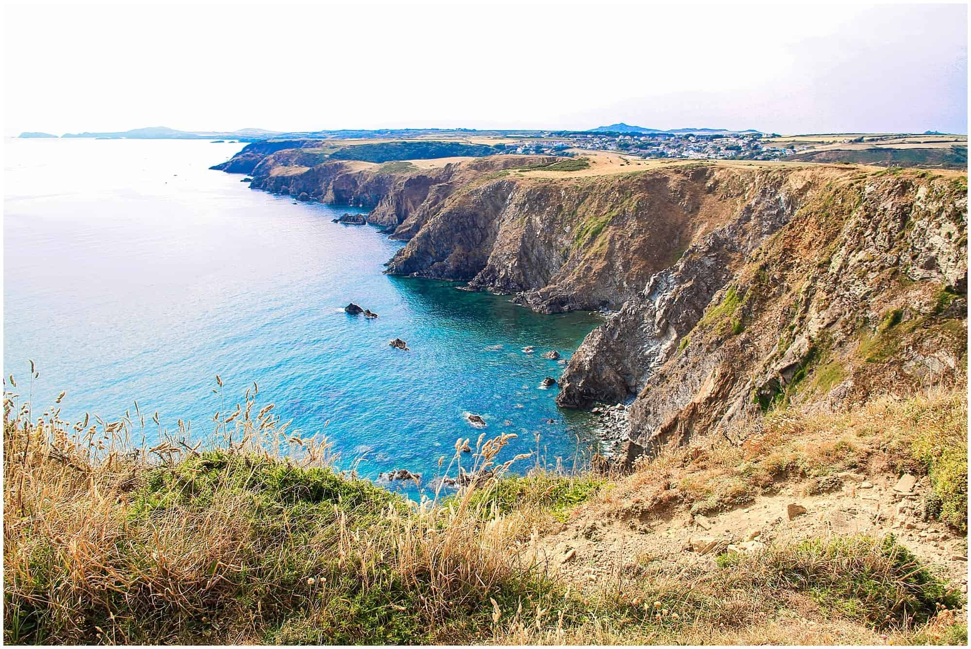 Coastal path in Pembrokeshire