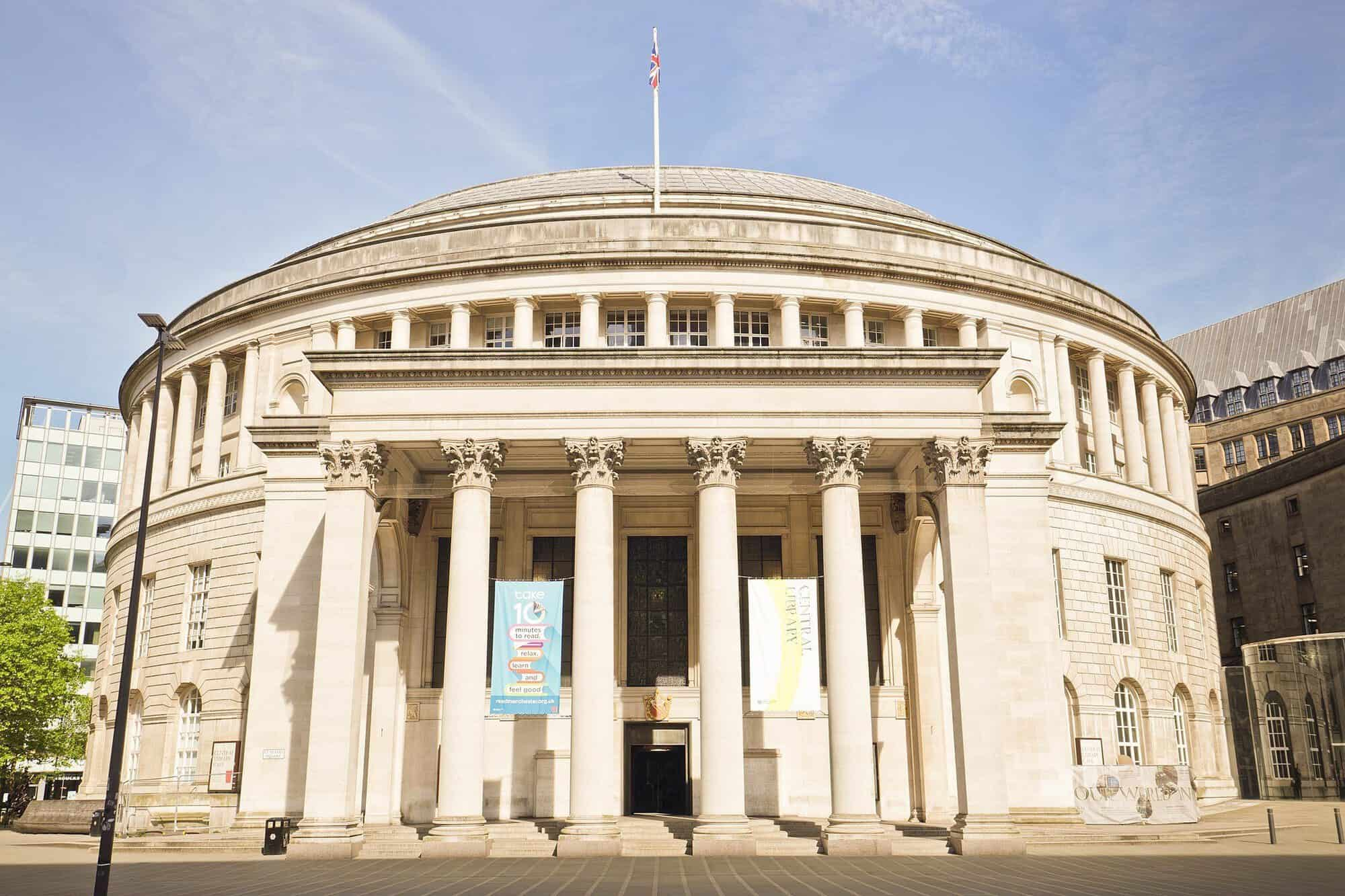 Manchester Central Library England