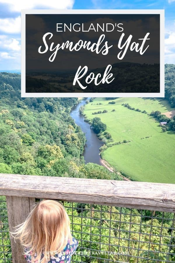 Symonds Yat Rock is one of world\'s best places to spot a peregrine falcon and it also has plenty of other things to do. Here\'s a guide. #TravelGuide #England #LoveGreatBritain #Wanderlust #SymondsYatRock