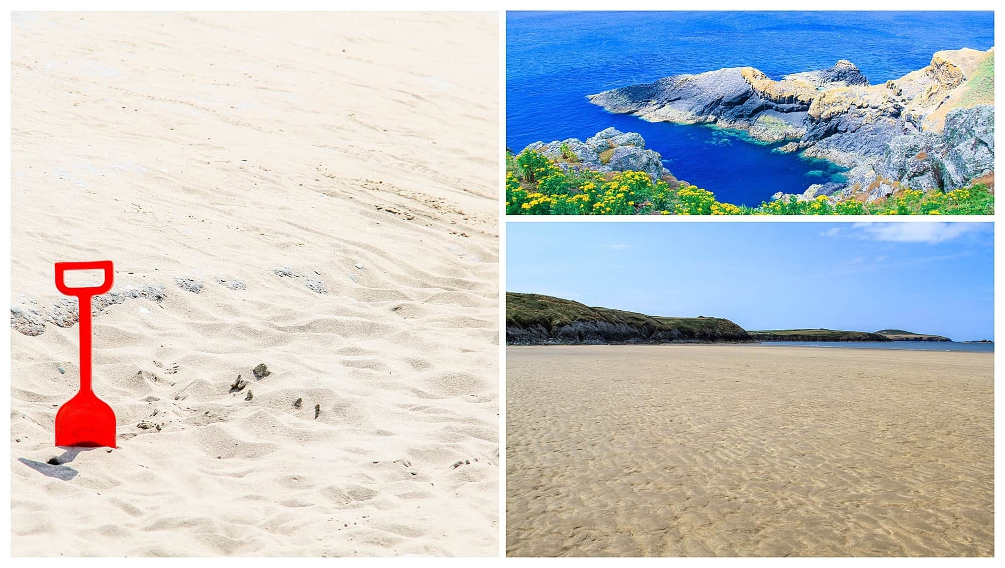 Whitesands Beach Collage Pembrokeshire