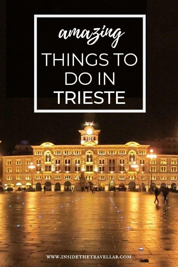 Amazing things to do in Trieste
