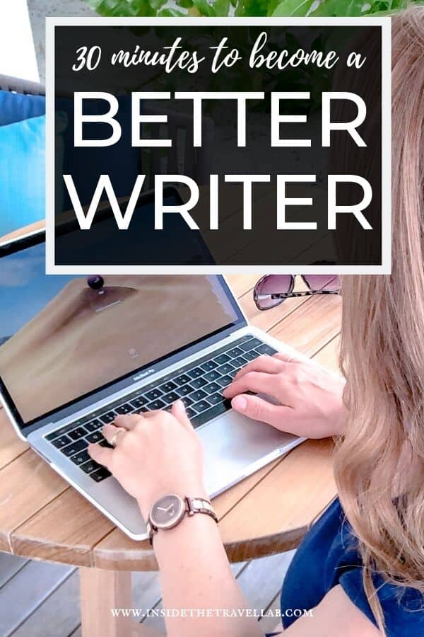 "This free online writing course promises ""30 Minutes to Become a Better Writer."" From award-winning writer and author Abigail King, these writing lessons will transform your business and creative writing. #writing #tips #courses"