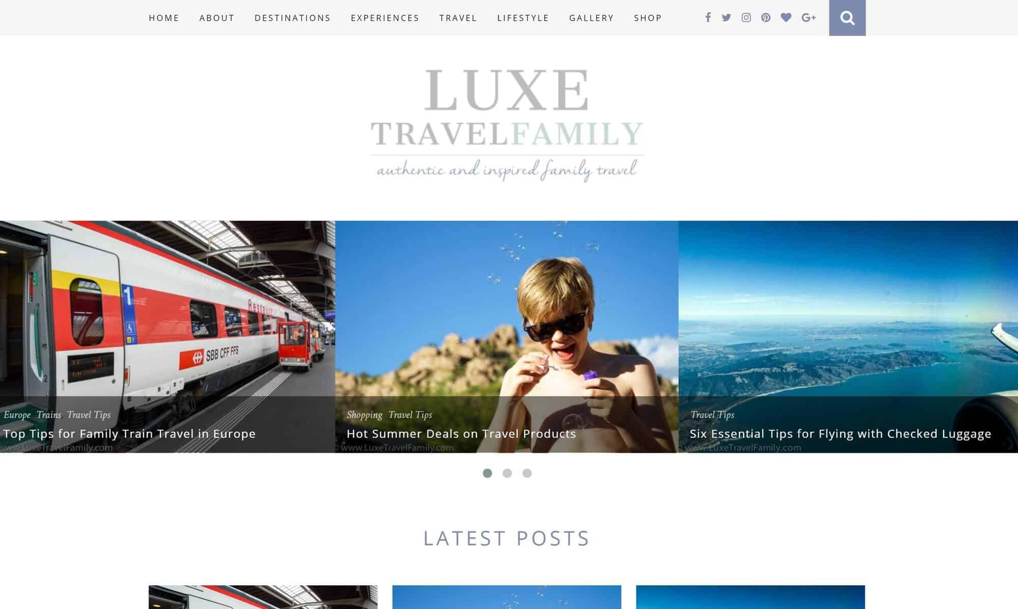 Luxe Travel Family