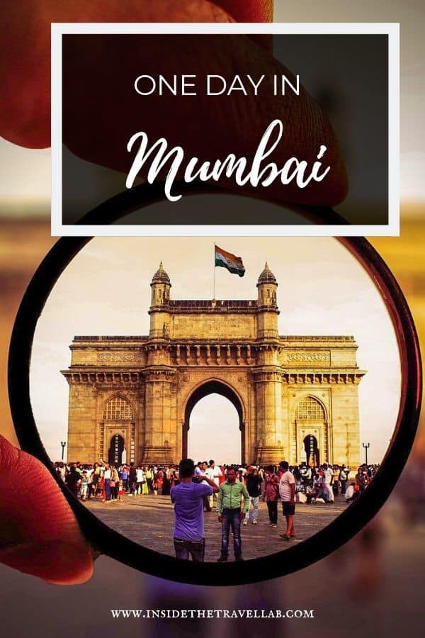 One day in Mumbai itinerary pin image
