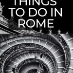 Find unique and unusual things to do in Rome with this gorgeous collection of Rome travel ideas. Discover how to get off the beaten track in the Eternal City by filling your itinerary with these alternative things to do. See the Vatican alone, head underground in the footsteps of ancient sects, eat with locals and see the stars. #Italy #Rome #TravelIdeas