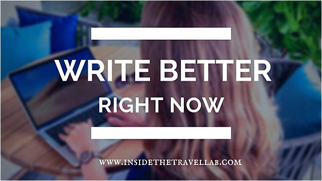 Write Better Right Now Online Writing Course Cover Image