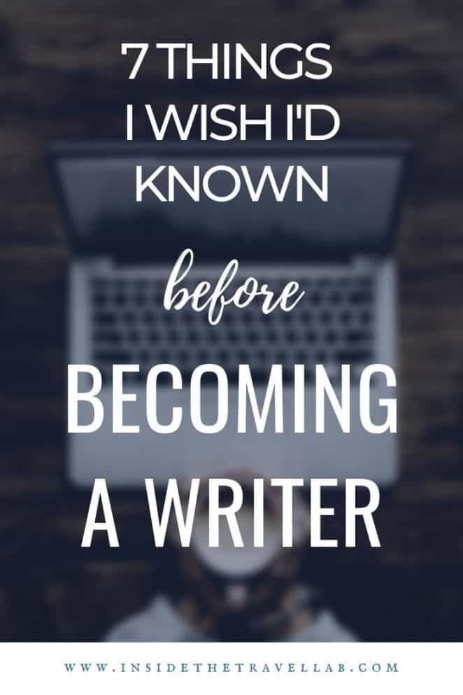 Every beginner and established writer should read this piece on becoming a writer. Packed with useful writing tips and career suggestions for anyone dreaming of becoming a writer, it's a must read. #writing #writer #blogger