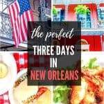 New Orleans Itinerary for three days. Plan your perfect New Orleans Itinerary with this easy guide to things to do in New Orleans and where to stay. #NewOrleans #Itinerary #USA #Louisiana