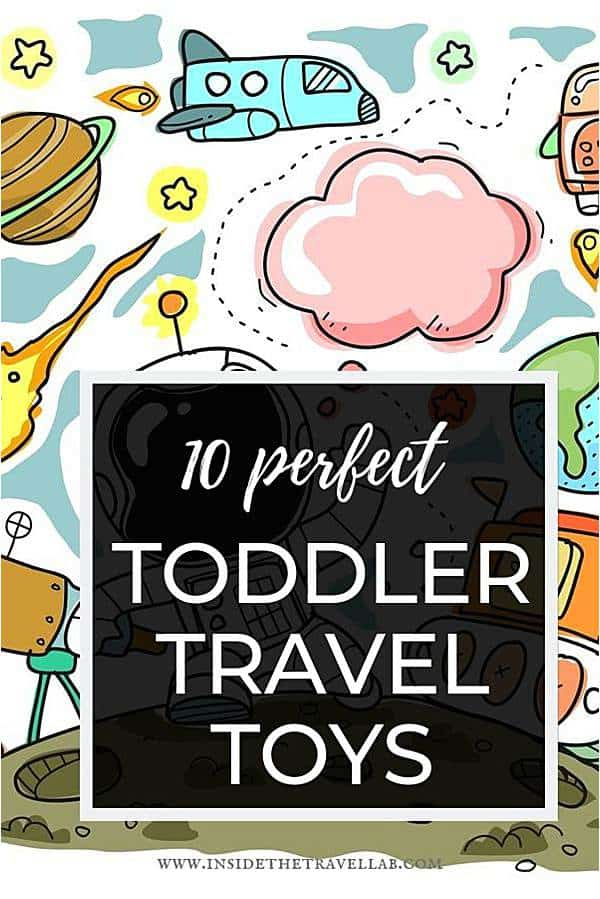 The best travel toys for toddlers on airplanes that fit in your bag, keep them happy and keep you sane. You're welcome! #toddler #travel #toys #traveltoys #toddlertoys